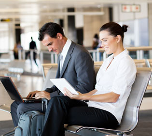 Ways To Stay Productive While Travelling on Business